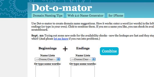 elegir dominio para crear un blog