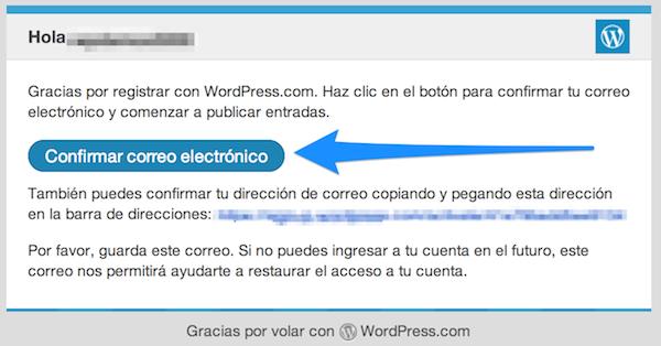 confirmar-correo-wp-com