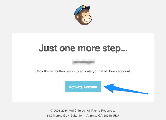 activar-cuenta-mailchimp