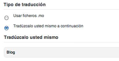 WordPress Themes Español