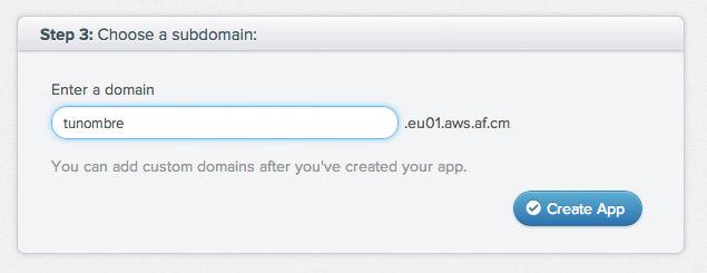 appfog nombre dominio