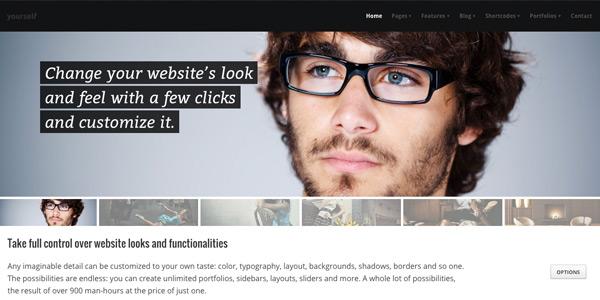 plantilla wordpress crear un blog